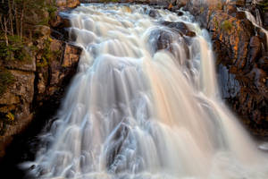 Chute du Diable Waterfall III by boldfrontiers