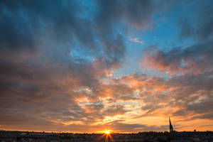 Derry Sunset by boldfrontiers