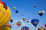 Vibrant Hot Air Balloons IV