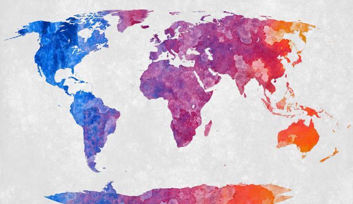 Colorful Acrylic World