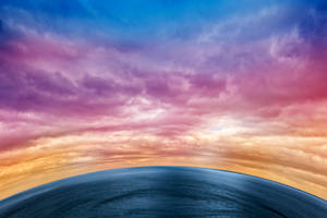 Rainbow Planet by boldfrontiers