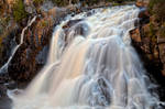 Chute du Diable Waterfall IV by boldfrontiers