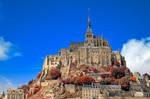 Autumn Shades of Mont Saint-Michel