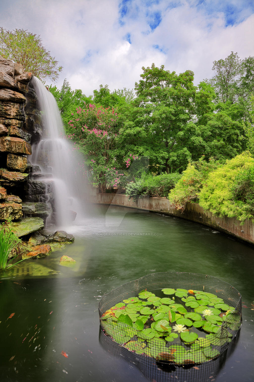 Zoo Waterfall II - Exclusive HDR Stock by somadjinn