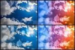 Bokeh Sunburst Sky - Exclusive Stock Pack