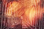 Fiery Cloister Glow - Premade Stock