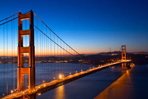 Golden Gate Dawn Bridge by boldfrontiers