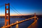 Golden Gate Dawn Bridge