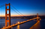 Golden Gate Dawn Bridge