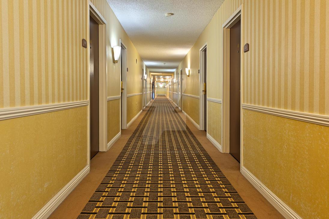 Illuminated Corridor - Exclusive HDR Stock by somadjinn
