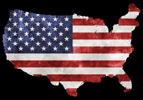 Grunge Bless America - Precut PNG Stock