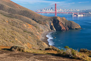 San Francisco and Golden Gate II - Exclusive HDR