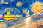 Starry London Night