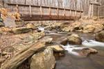 Cunningham Forest Bridge and Water Stream