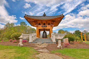 Korean Bell Garden by boldfrontiers