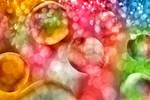Vibrant Bokeh Bubbles