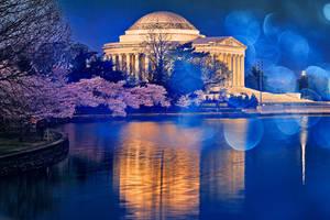 Bokeh Jefferson Memorial (freebie)