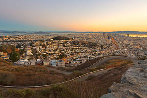 San Francisco Sunrise VI by boldfrontiers