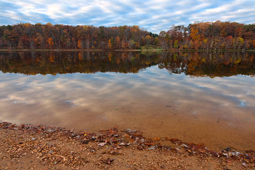 Seneca Fall Reflections by boldfrontiers