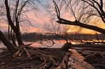 Potomac River Sunset - Edwards Ferry