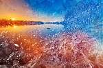 Acrylic Potomac Sunset