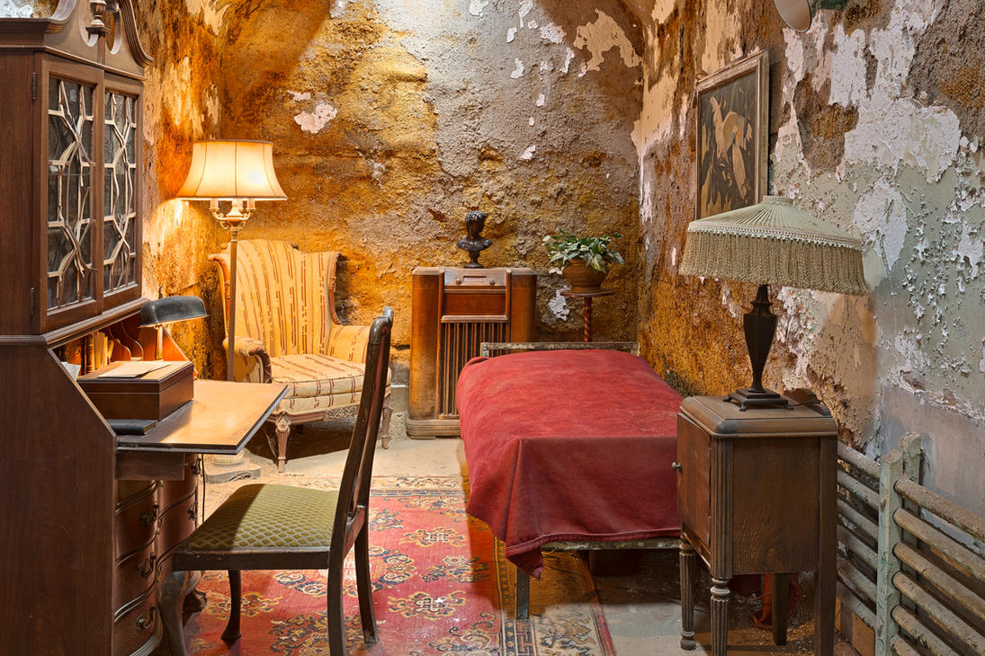 Al Capone S Luxurious Prison Cell By Somadjinn On Deviantart