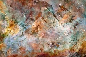 Acrylic Carina Nebula by boldfrontiers