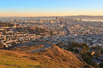 San Francisco Sunrise VII by boldfrontiers