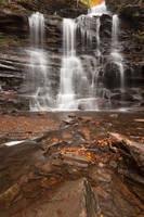 Ganoga Falls (freebie) by boldfrontiers
