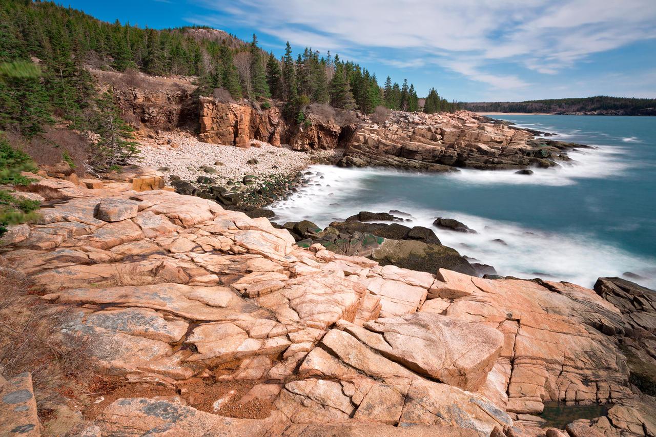 Acadia national park thunder hole by somadjinn on deviantart for Thunder hole acadia