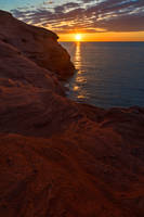 Seacow Head Sunset by boldfrontiers