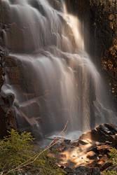 Hadlock Sunbeam Falls by boldfrontiers