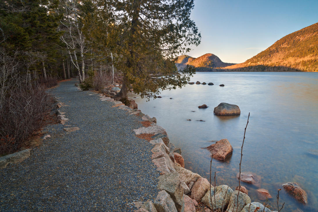 Jordan Pond Trail By Somadjinn On Deviantart