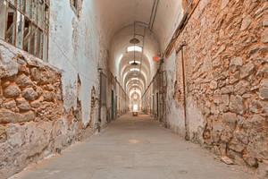 Prison Corridor II by boldfrontiers
