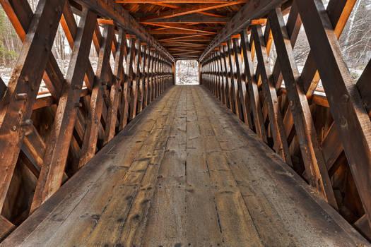 Jack O'Lantern Covered Bridge