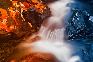Stream of Fire and Ice by boldfrontiers