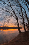 Potomac River Sunset II - Edwards Ferry