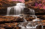 Onondaga Falls - Pastel Fantasy