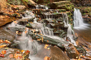 Cayuga Falls by boldfrontiers