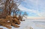 North Point Winter Beach