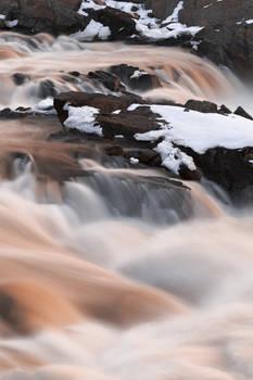 Great Ruby Winter Falls