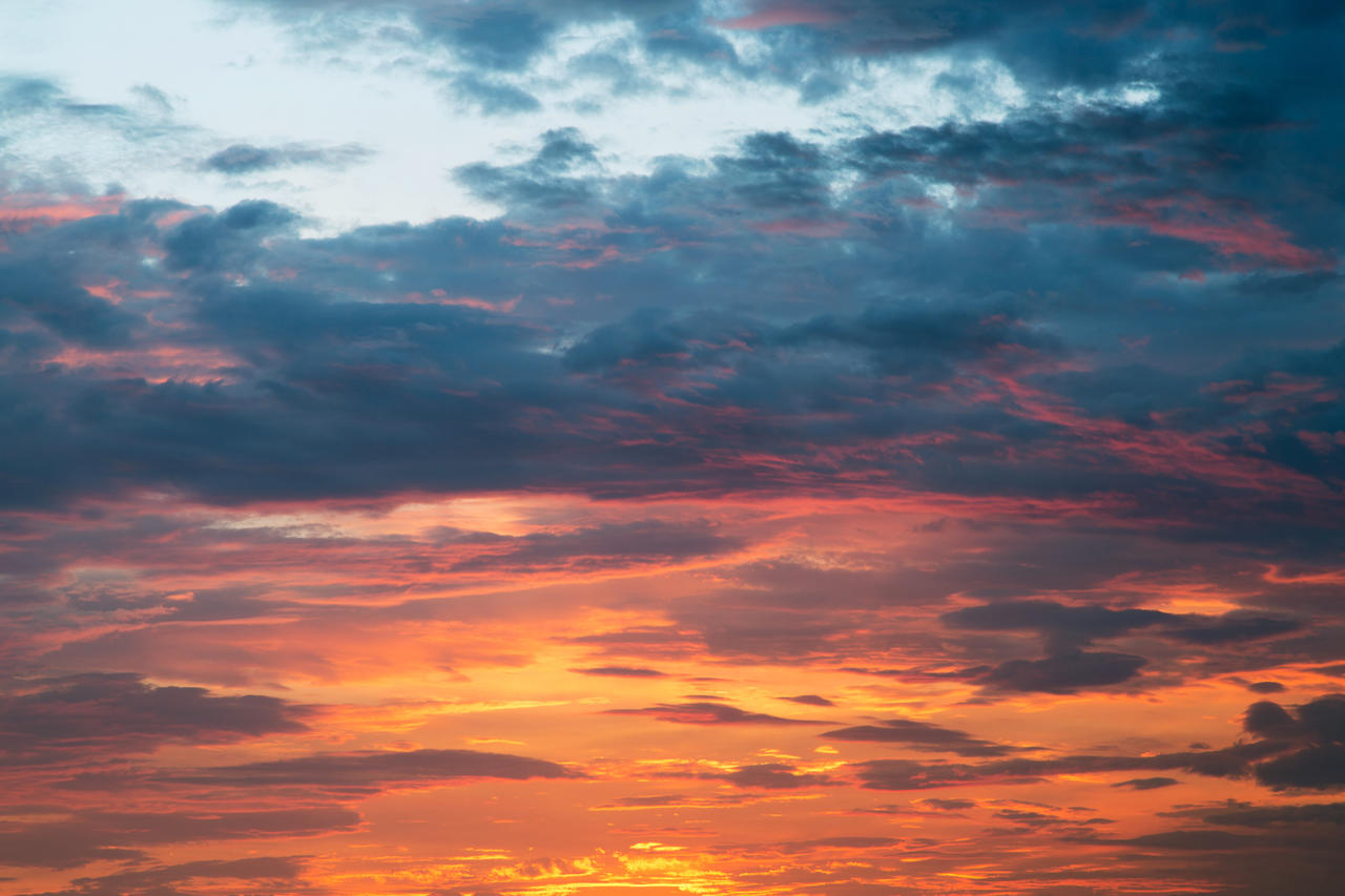 vibrant sunset clouds by somadjinn on deviantart