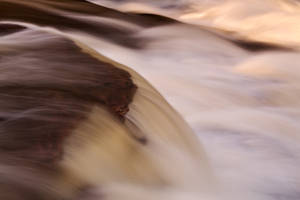 Swallow Falls Close-up by boldfrontiers