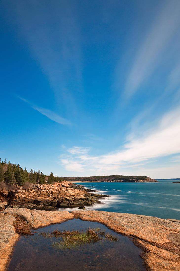Acadia national park thunder hole ii by somadjinn on for Thunder hole acadia