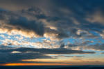 Vibrant Sunrise Cloudscape
