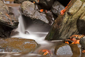 Glen Artney Stream III by boldfrontiers