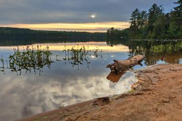 Nicks Lake Sunset