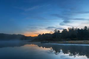 Pendleton Dawn Lake by boldfrontiers
