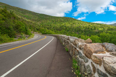 Whiteface Mountain Road by boldfrontiers