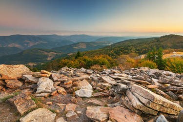 Spruce Knob Mountain Sunset by boldfrontiers